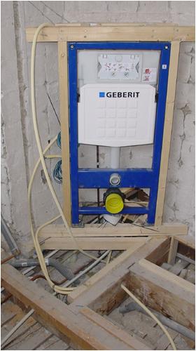 Inbouwtoilet plaatsen renovatiegroep uw rechterhand bv for Zelf zoldertrap maken