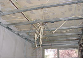 Metal stud profielen plafond