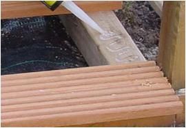 Vlonder maken renovatiegroep uw rechterhand bv - Bedek een houten terras ...
